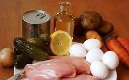 salat olivje ingredienty