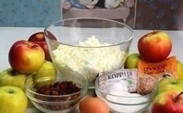 syrnaya zapekanka ingredienty