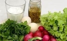 vesennij salat ingredienty