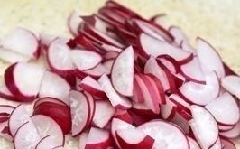 vesennij salat rediska